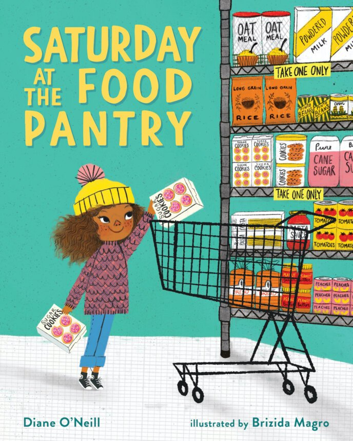 Saturday at the Food Pantry cover
